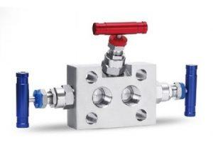 manifold valve three way